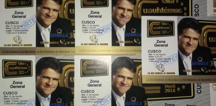 Atención amigos de Cusco En Portada, la lista de ganadores para la gran presentación de Carlos Cuauhtémoc Sánchez