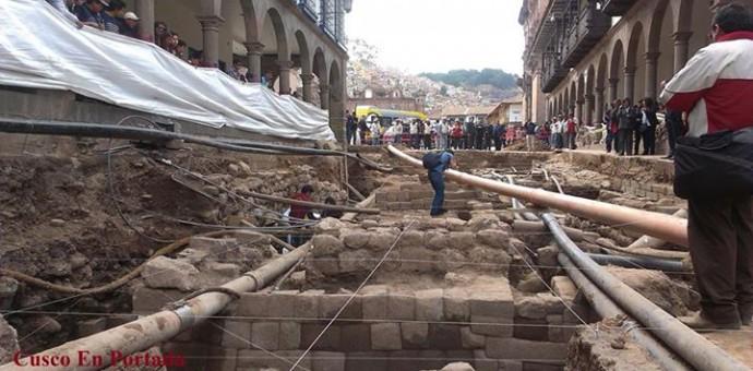 Ministerio de Cultura del Cusco sostiene que no existen condiciones para poner en valor todo lo encontrado en la calle Mantas