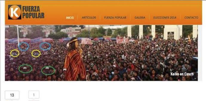 Keiko Fujimori «vende humo» en su campaña proselitista