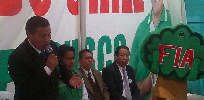 Fuerza Inka Amazónica y su candidato regional Oswaldo Luizar Obregón denunciaron