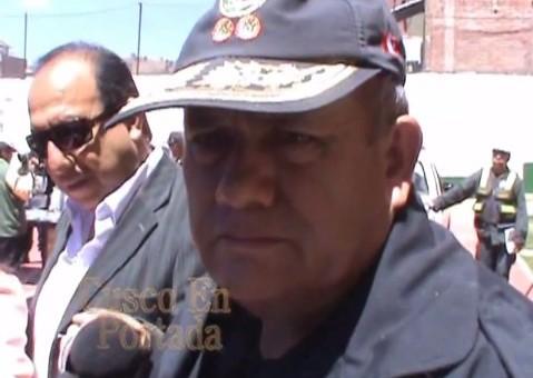 General Prada cree que policía no mató a huelguista en Santa Teresa