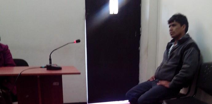 Poder Judicial sentenció a 16 años de prisión a peligroso extorsionador