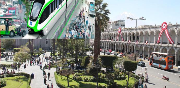 La primera ciudad del Perú en tener un monorriel será Arequipa