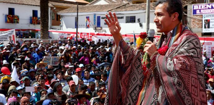 Presidente Ollanta Humala inaugura en Cusco Asamblea de Contralores