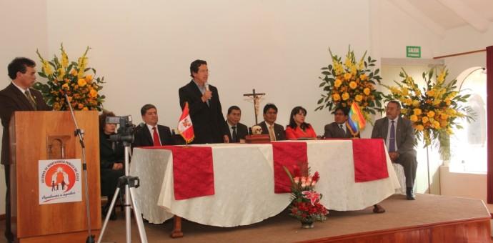 Alcalde del Cusco tomó juramento al nuevo presidente de la Beneficencia Pública