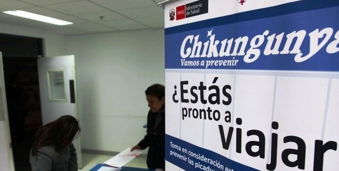 Confirman 6 casos importados de Chikungunya, otros 3 pueden ser autóctonos