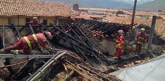 Vivienda incendiada tiene valor contextual, aclara Ministerio de Cultura