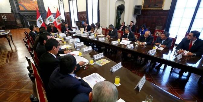 Presidente Humala sostendrá hoy una reunión de trabajo con presidentes regionales