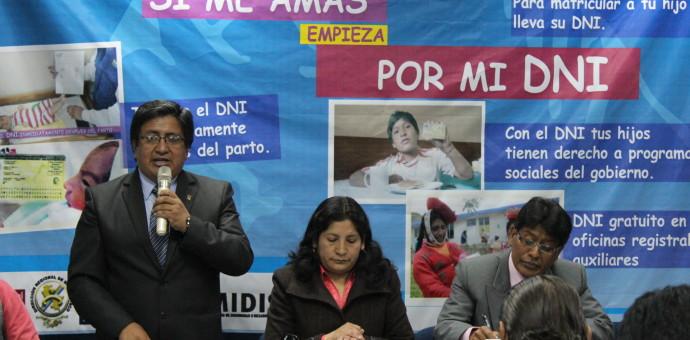 Lanzan campaña de obtención del DNI para menores de 5 años de edad