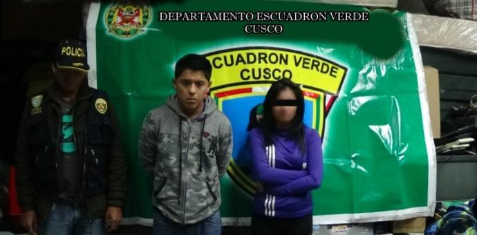 Capturan a dos micro comercializadores de droga en inmediaciones de El Molino