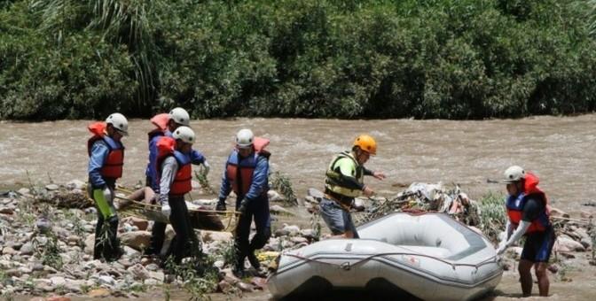 Recuperan dos cuerpos de las nueve personas desaparecidas en el río Yanatile