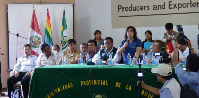 Mesa Temática Social suscribió seis acuerdos sobre salud y educación en Quillabamba
