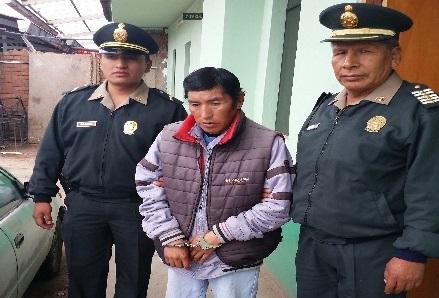 Capturan a sujeto que estafaba haciéndose pasar de trabajador de Seda Cusco