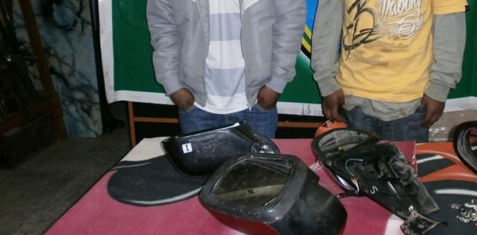 Poder Judicial sentenció a dos sujetos por robo de auto partes