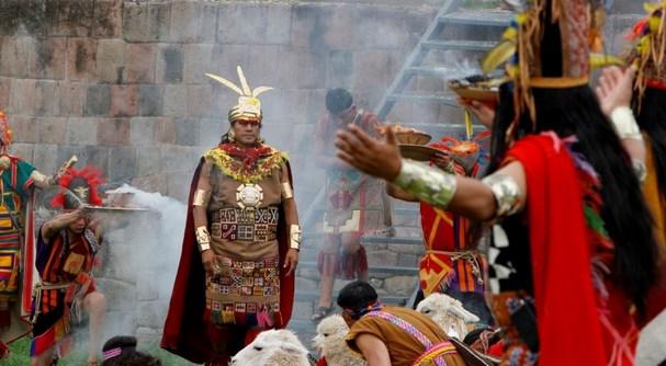 Con ceremonia especial inca se anunció el inicio de las Fiestas del Cusco 2015
