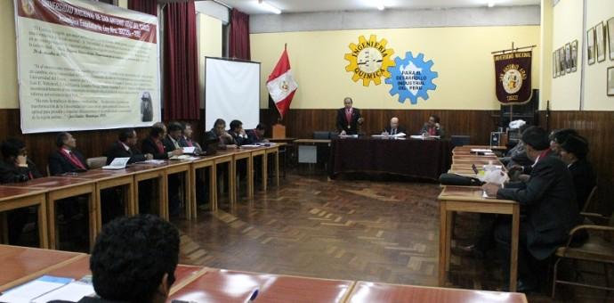 En marcha aprobación y promulgación del nuevo estatuto de la UNSAAC