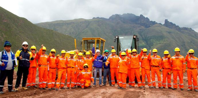 Se iniciaron las obras del Gasoducto Sur Peruano