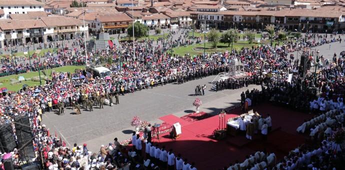Festividad del Corpus Christi será este jueves en la plaza de armas del Cusco