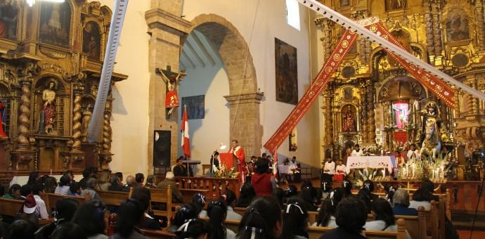 Arzobispo del Cusco participó de festividades patronales