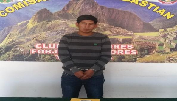Capturan a sujeto que se dedicaba a robar celulares de estudiantes de la Andina