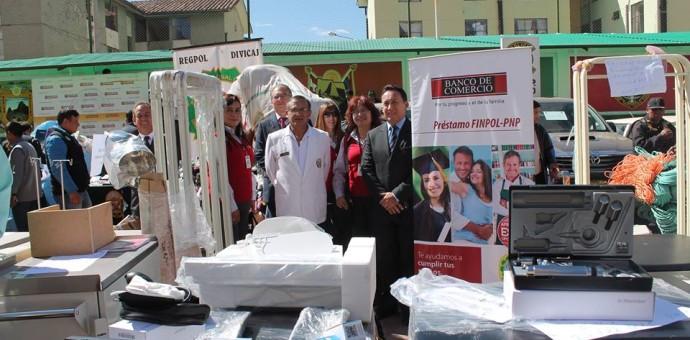 Policlínico PNP de Cusco recibe  modernos equipos médicos
