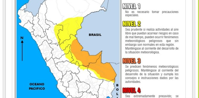 Temperatura superará los 35 grados en la selva peruana en las próximas 72 horas