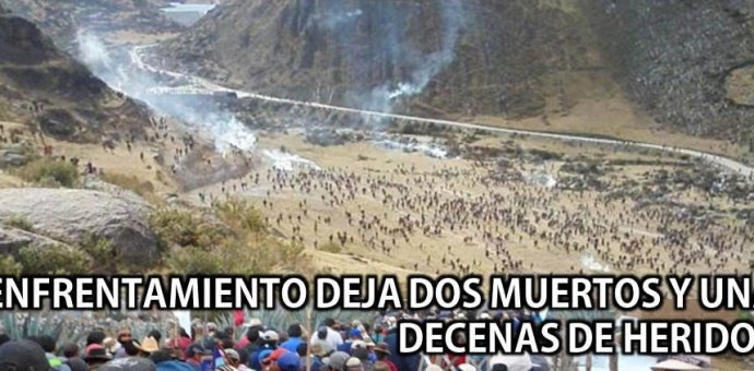 Declaran estado de emergencia en Chumbivilcas, Espinar y provincias de Apurímac