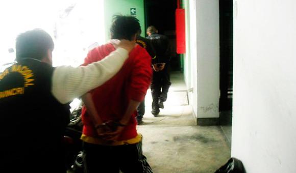 Policía de Santiago captura a peligrosa banda delictiva integrada por 2 menores