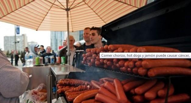 Prohibido consumir chorizos, hot dogs y jamón por ser cancerígenos