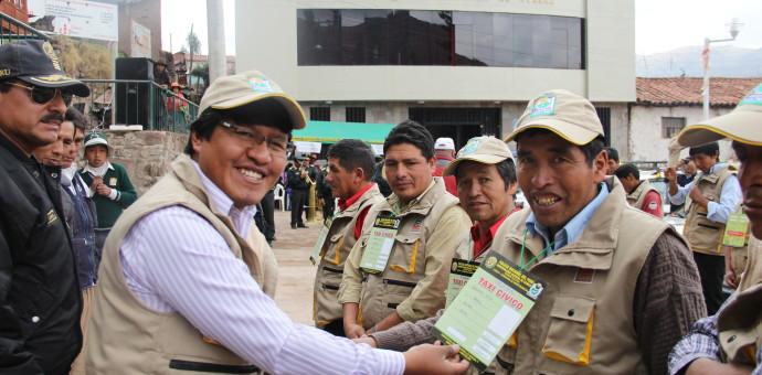 Municipalidad distrital de Ccorca impulsa taxi cívico en su jurisdicción