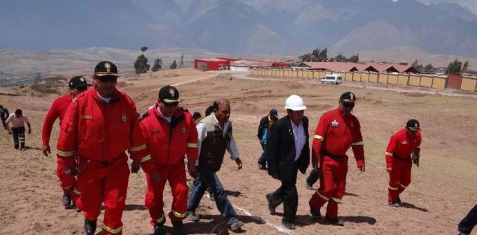 Municipalidad de Maras donó terreno de cinco mil m2 a Compañía de Bomberos