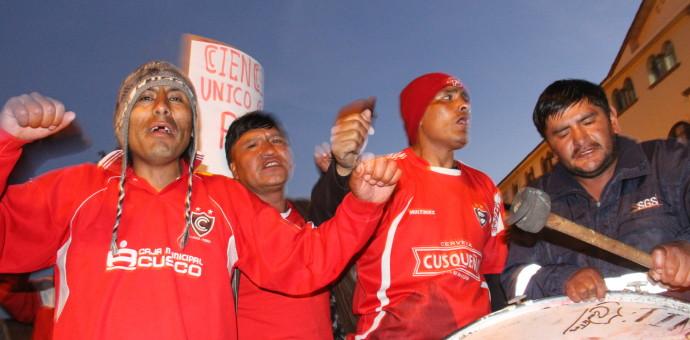 Pueblo cusqueño exige la restitución de 6 puntos en favor del Cienciano