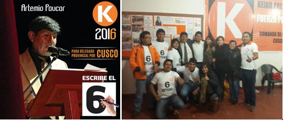 Fuerza Popular Cusco eligió a su delegado provincial para las elecciones internas
