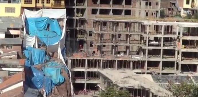 Alcalde del Cusco anuncia que exigirá la demolición del hotel de 10 pisos