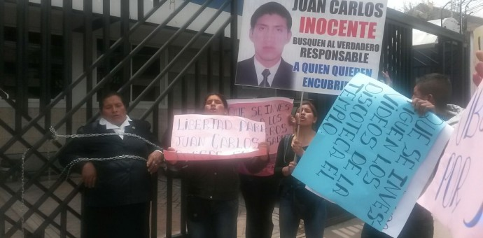 Liberan a «Carloncho», presunto autor de la muerte de JC Tupayachi