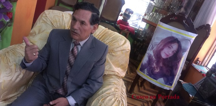 Padre de Madeleine Lazo asegura que el asesino de su hija es Anthony Unda