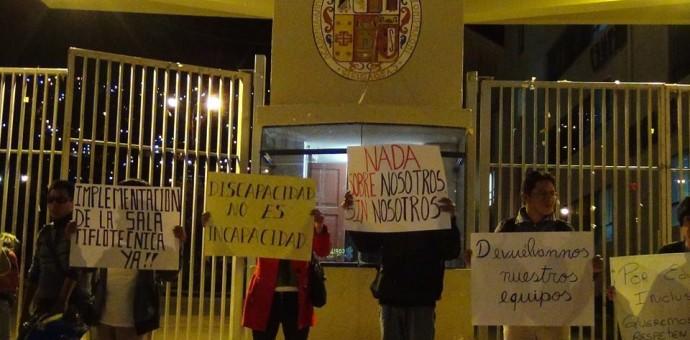 Denuncian a autoridades de la UNSAAC por discriminar a estudiantes con discapacidad visual