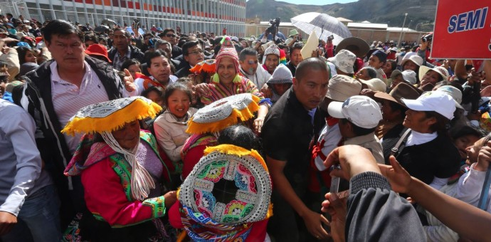 Ningún gobierno debe retroceder lo avanzado en educación, subraya Humala