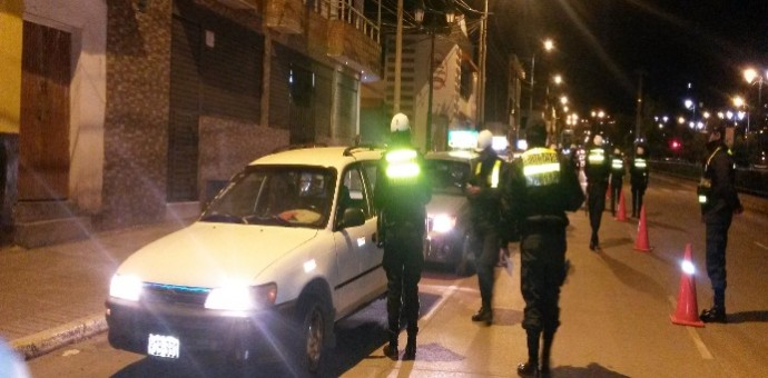 Siete sujetos que conducían en presunto estado de ebriedad fueron intervenidos