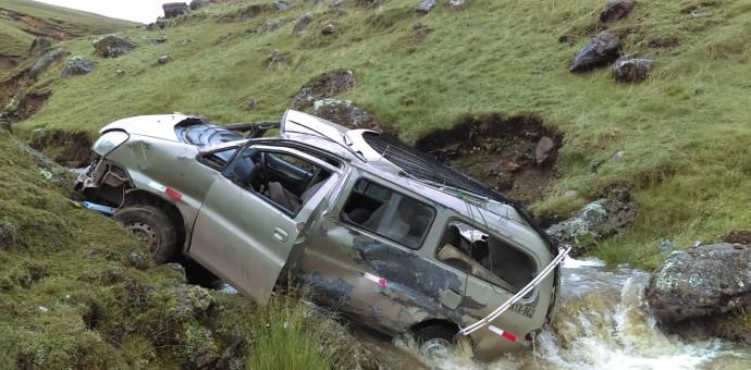 Grave accidente de tránsito en Lamay deja el saldo de una persona fallecida