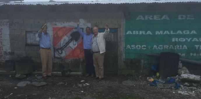 Candidato de Acción Popular llega a Cusco y promete renegociar el gas de Camisea
