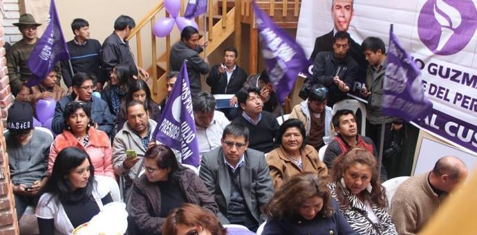 Partido de Julio Guzmán se divide en Cusco con dos listas congresales