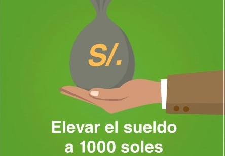 Verónika Mendoza ofrece mil soles de sueldo mínimo en su primer año de gestión