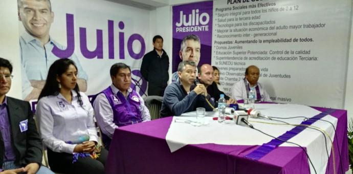 Partido de Julio Guzmán se podría quedar sin candidatos al Congreso en Cusco