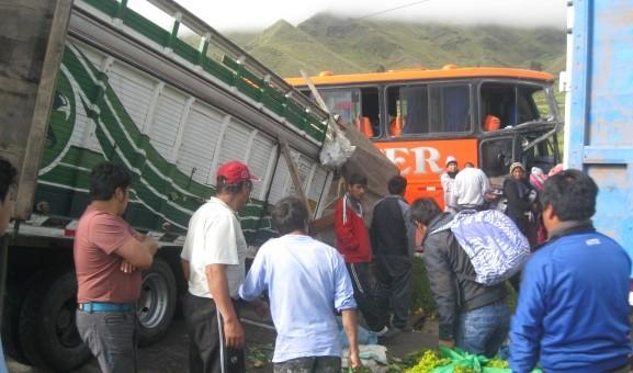 Relación de heridos y fallecidos del accidente de Power ocurrido en Marangani