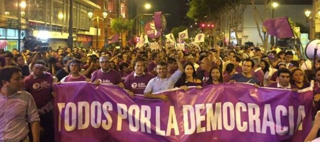 Jurado de Elecciones verá este miércoles apelación del partido de Julio Guzmán