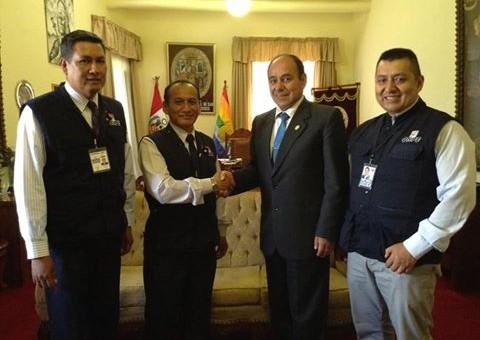 UNSAAC apoyará en el desarrollo de las elecciones 2016