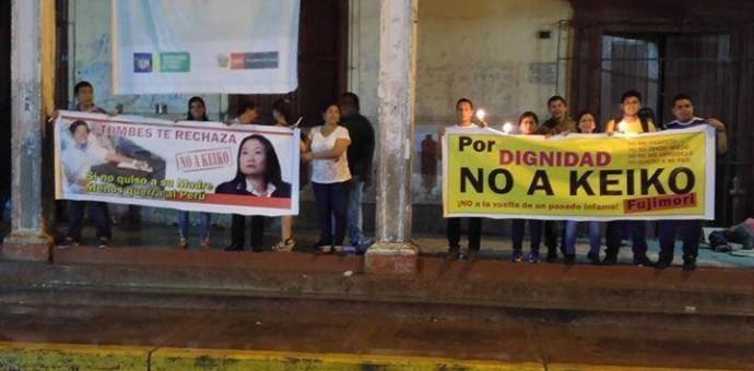 Crece rechazo a la candidatura de Keiko Fujimori