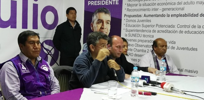 Julio Guzmán se queda sin candidatos cusqueños al Congreso de la República