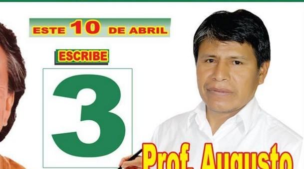 Augusto Idme: «Reivindicaré los derechos del maestro y defenderé la escuela pública»